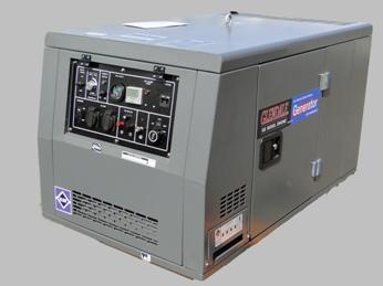 Дизельная электростанция воздушного охлаждения в шумозащитном кожухе с автозапуском GLENDALE DP15000SLE/1.